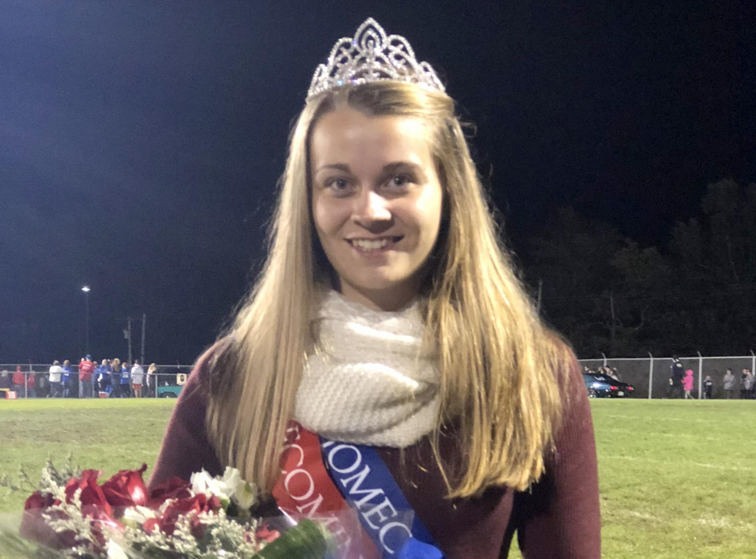 2018 Hoco Queen, Jennifer Adams