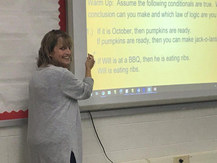 Meet Our Newest Teacher, Mrs. Nines