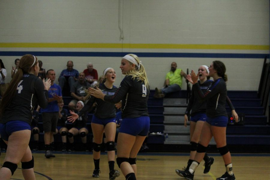 Lady Warrior Volleyball Runs into Playoffs with High Hopes