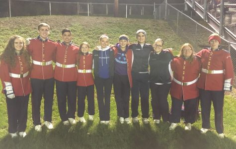 Farewell, Marching Band Seniors