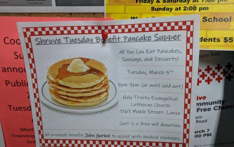 Shrove Tuesday Benefit Pancake Supper