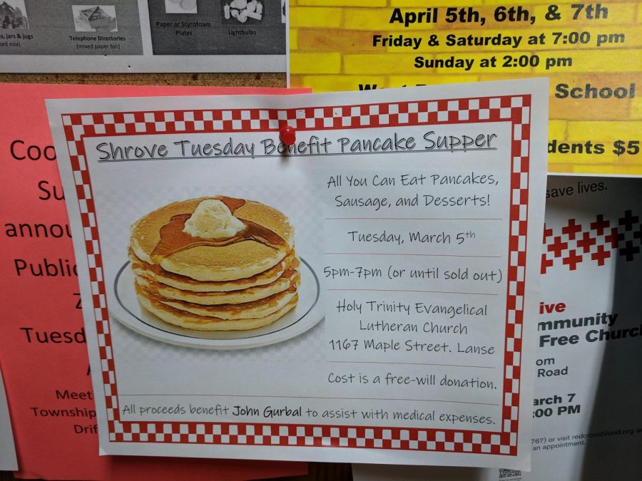 A+poster+for+the+Shrove+Tuesday+Benefit+Pancacke+Supper+at+Holy+Trinity+Church