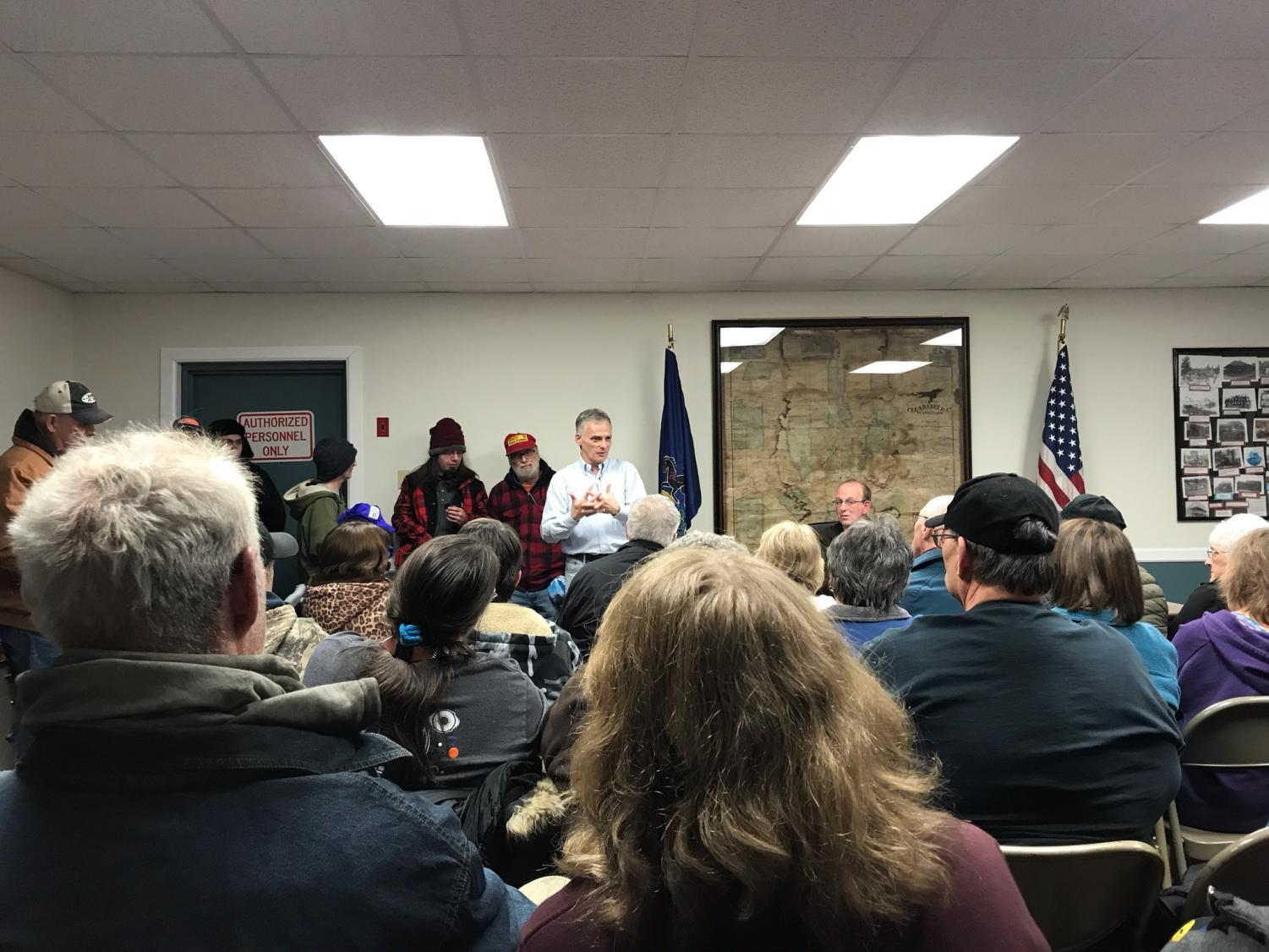 Cooper Township residents air the grievances about Zito Internet, televison and telephone service.