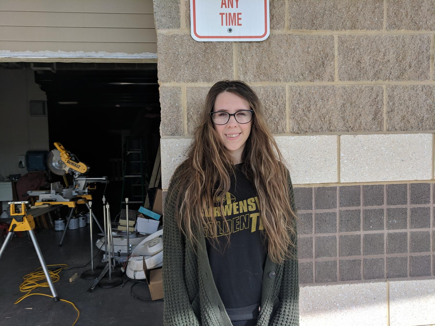 Samantha Kephart is April's Staff Member of the Month for the Warrior Watch