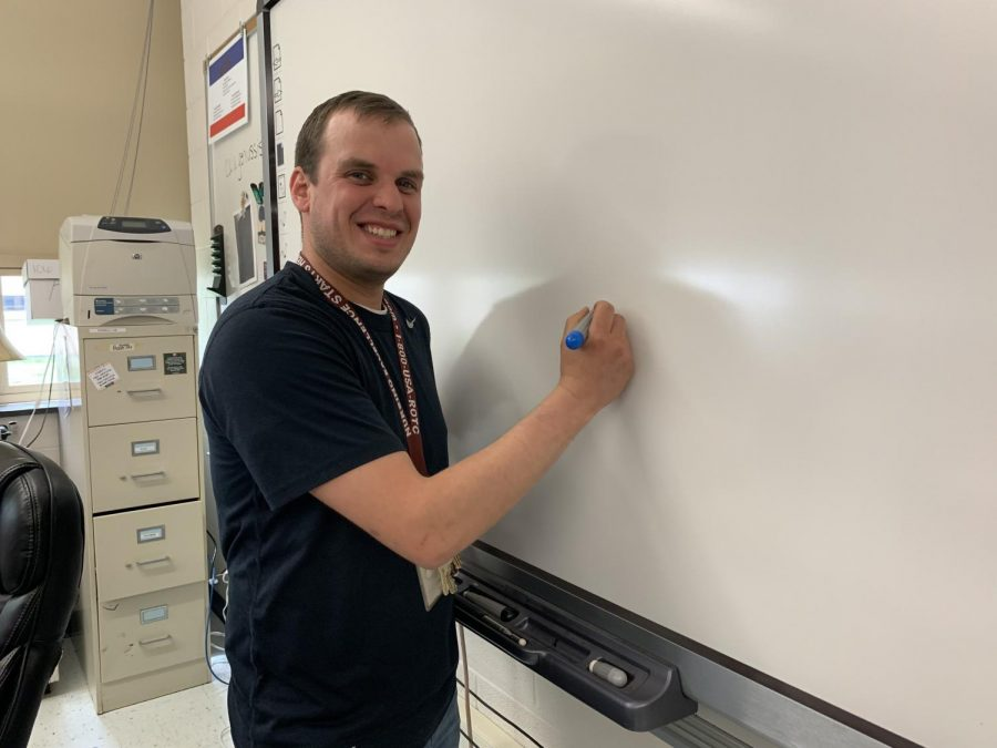 One of our many appreciated teachers here at West Branch.