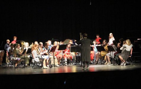 Senior/Junior High Band concert, Photo Courtesy of Michael Narehood
