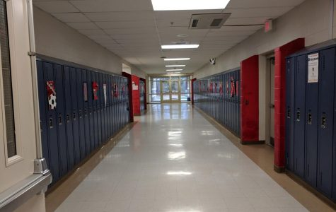 The WB Senior Hallway, where most of the Senioritis occurs.