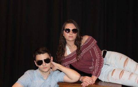 Seniors Nathan Zetts, and Julia Herring were voted Most Likely to be Famous