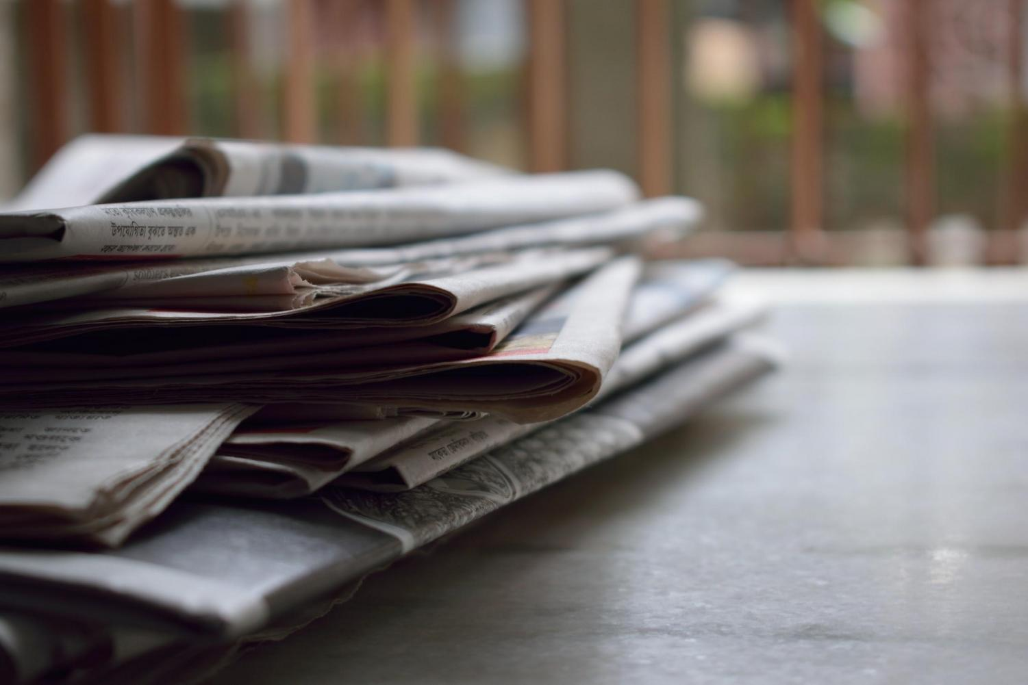 Print journalism was the start of mass media, but the newspaper is becoming increasingly irrelevant in favor of other sources, such as online news.