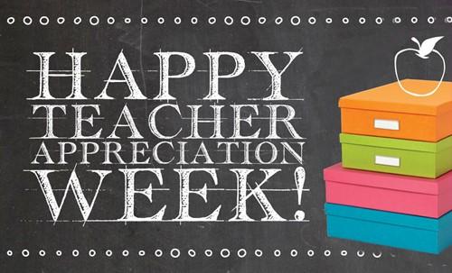 Teacher Appreciation Week at West Branch (Elementary)