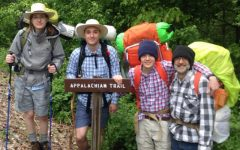 Curious Georges (and Max) take on the Appalachian Trail