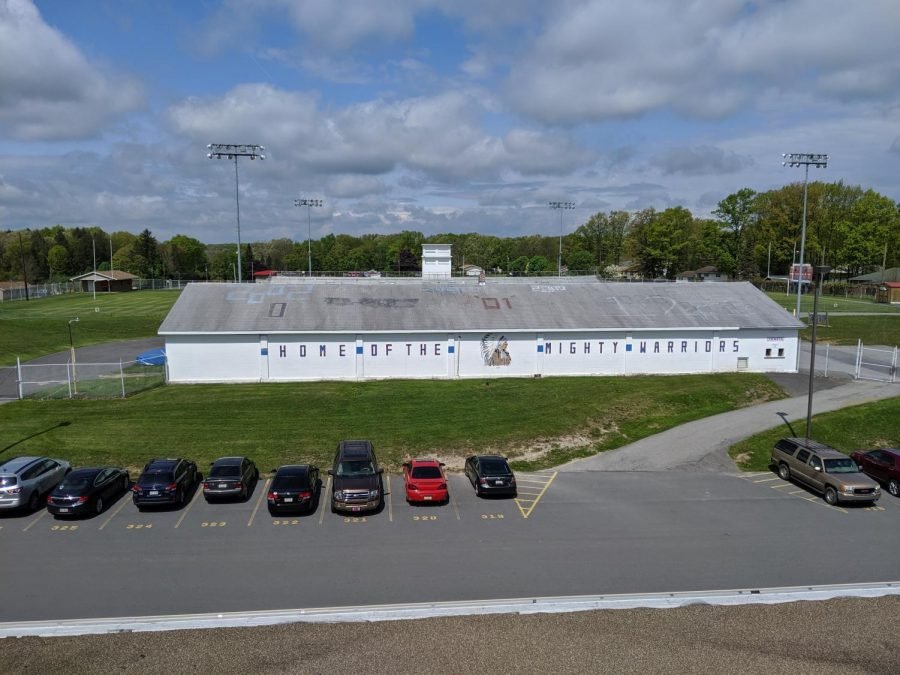 West Branch Football Field House No Longer Usable