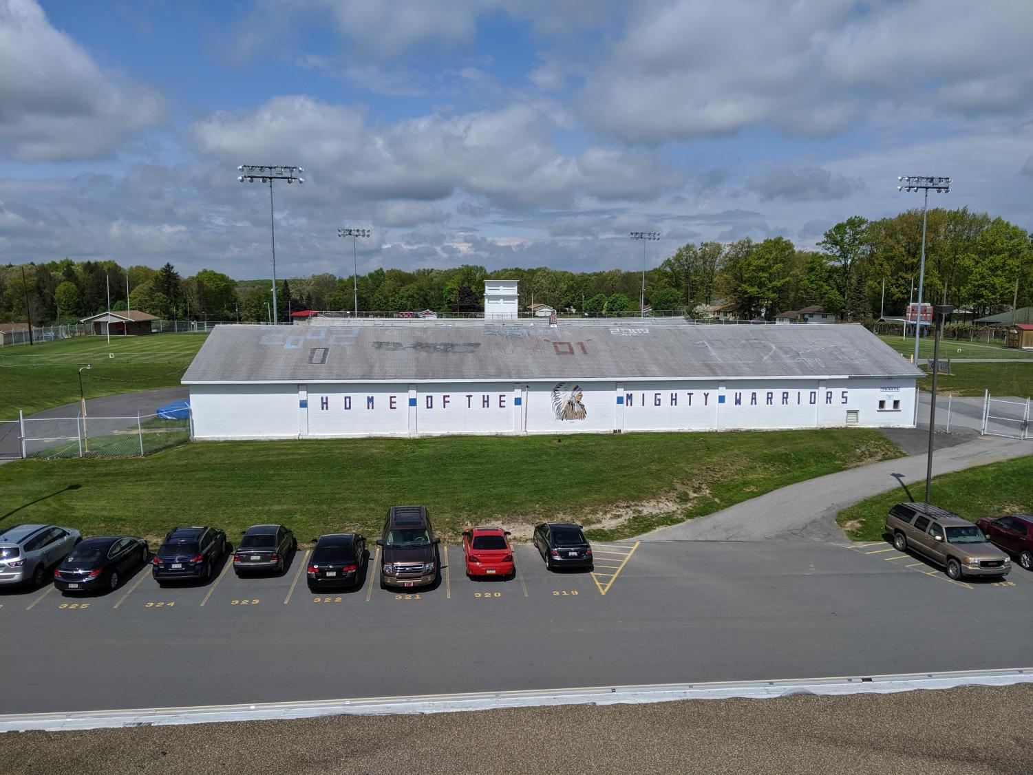 The Field House has been a second home for the warrior football team for decades.