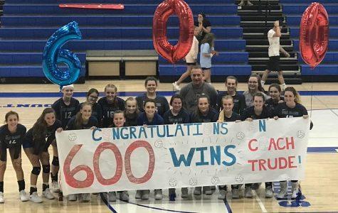 Coach Trude gets his 600th Win
