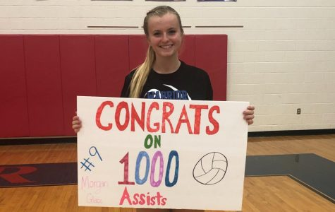 Morgan Glace earns 1000th Assist