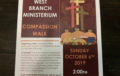 West Branch Ministerium Compassion Walk