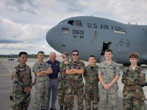 West Branch Sophomore Soars in US Civil Air Patrol