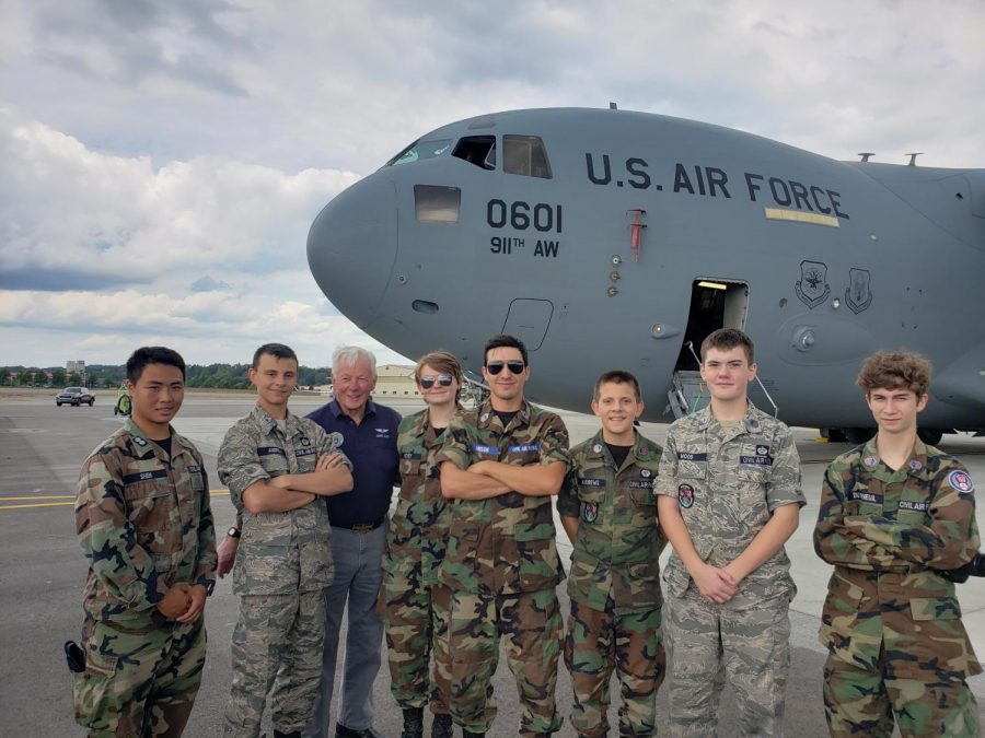 West Branch Sophomore Soars in US Civil Air Patrol
