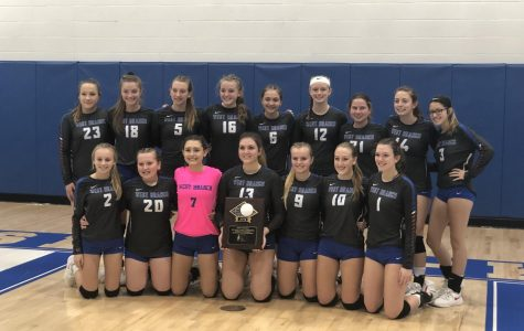 Lady Warrior Volleyball Wins ICC Championship