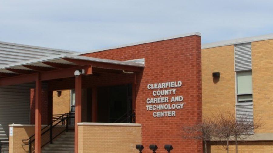 The+front+entrance+of+the+Clearfield+County+Career+and+Technology+Center.