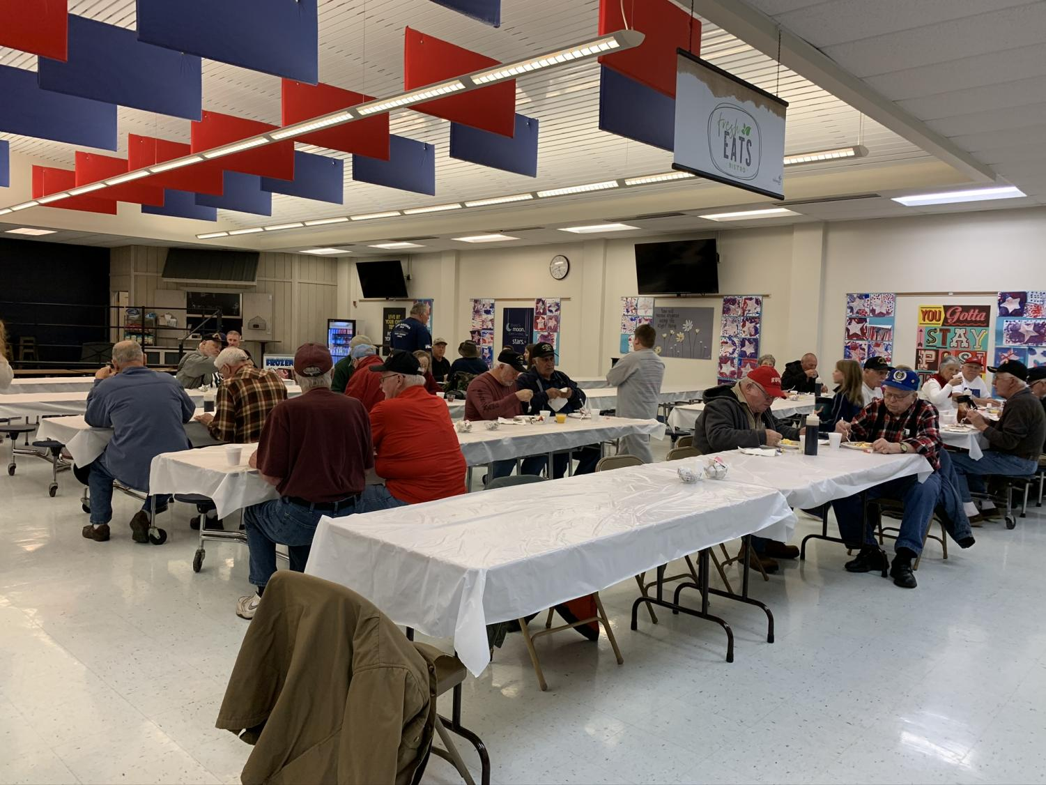 The Veterans Day Breakfast was held on Nov 11 to honor and thank the veterans who protect and serve our country.