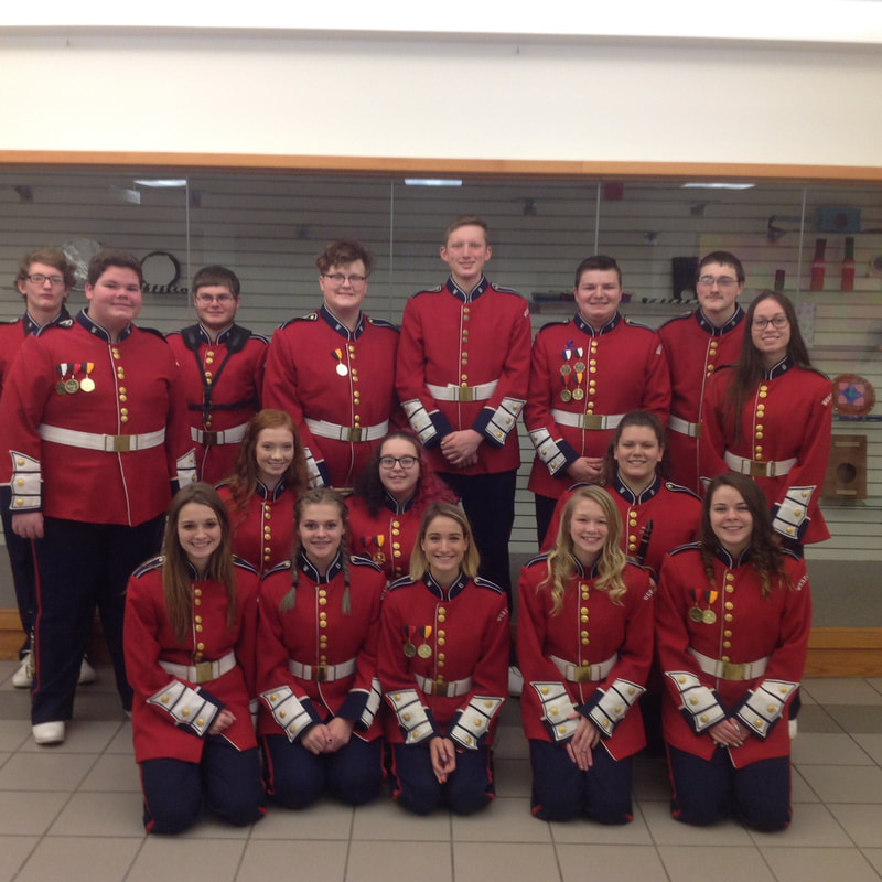 Senior+High+County+Band+representatives+for+West+Branch.