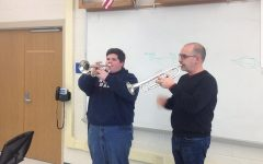 West Branch Band Gets A Special Visit