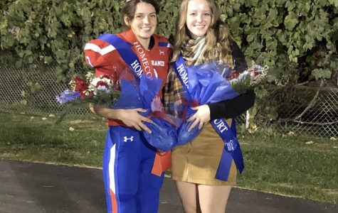 Congratulations to Will Herring, Corrin Evans, and Sarah Betts for winning Homecoming King, Queen Runner-Up, and Queen!