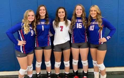 2020 Senior Volleyball Players