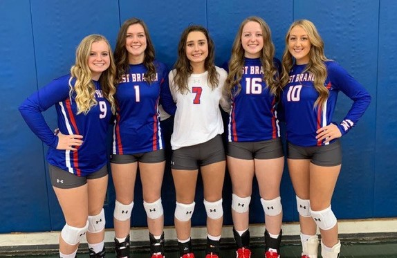 2020 Senior Volleyball Players