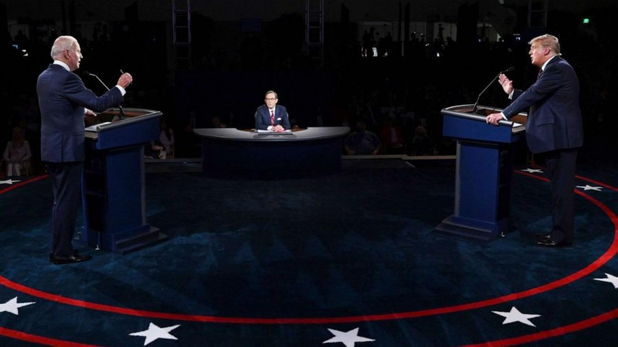 The+first+presidential+debate+set+the+tone+for+the+upcoming+presidential+election.