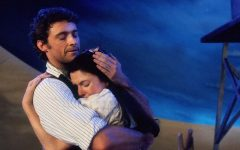 Hugh Jackman and Josefina Gabrielle play Curly and Laurey in the 1999 rendition of Oklahoma!