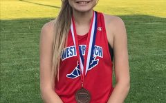 Freshman Jenna Mertz has once again been selected as the Female Athlete of the Week!