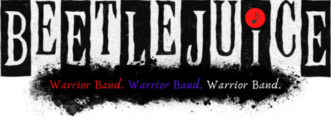 The Mighty West Branch Warrior Marching Band proudly presents their fall show: Beetlejuice.