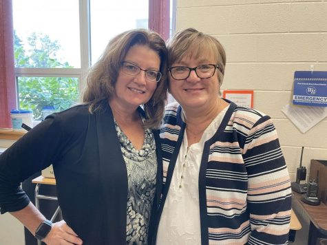Our Staff Members of the Month for September are Mrs. Kim Eboch and Mrs. Laurie Hoffman.